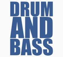 DRUM AND BASS  Baby Tee
