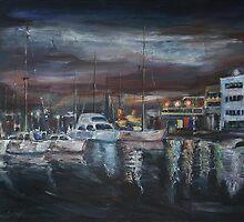 The Sleeping Port by Stefano Popovski