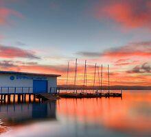 Nautical Glow. ( sunset ) by Julie  White
