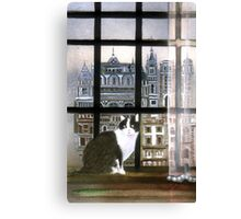 Berlin from the attic Canvas Print