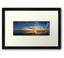 Cable Beach Icons Framed Print