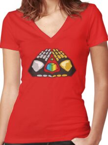 Alive Once Again... Women's Fitted V-Neck T-Shirt
