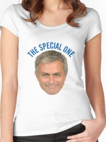 MOURINHO :: THE SPECIAL ONE Women's Fitted Scoop T-Shirt