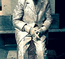 """Metal Man"" Circular Quay NSW  by Toni McPherson"