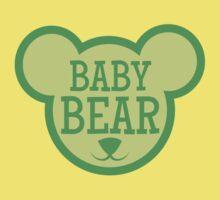 BABY Bear in teddy bear shape Baby Tee