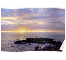 Dawn at Yorkeys Knob Poster