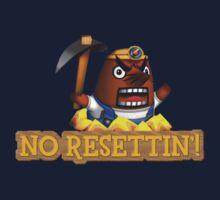 No Resettin'! One Piece - Long Sleeve