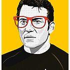 Star Trek James T. Kirk (William Shatner) Pop Art  illustration by Creative Spectator