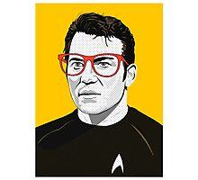 Star Trek James T. Kirk (William Shatner) Pop Art  illustration Photographic Print