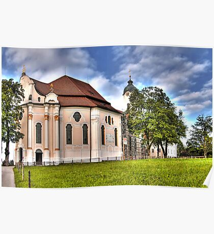 Pilgrimage Church of the Scourged Saviour - Steingaden Poster