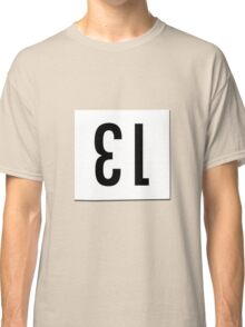 Race number 13 Classic T-Shirt