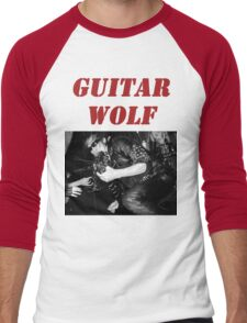 GUITAR WOLF 01 Men's Baseball ¾ T-Shirt