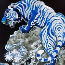 Blue Tiger by George Hunter