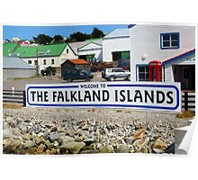 Welcome to the Falkland Islands Poster