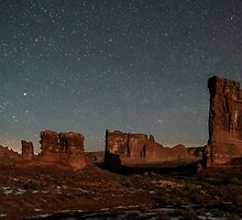Dusk in Moab, Utah by LoriWhalen6