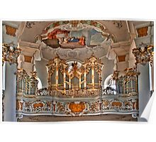 Pilgrimage Church of Wies - The Balcony Poster