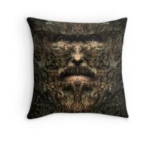 Old Man of the Woods Throw Pillow