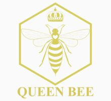 Amelia Bees Logo - Queen Bee (in yellow) One Piece - Long Sleeve