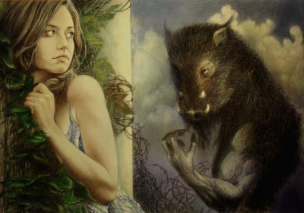 Beauty and the Beast by James McPartlin