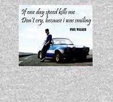 Paul Walker Fast Speed Killing Unisex T-Shirt