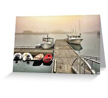 Stonington, Maine Greeting Card