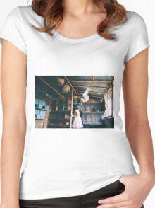 her birds Women's Fitted Scoop T-Shirt