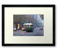 Market Street Buzz Framed Print