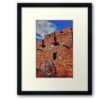 Arizona Adobe Framed Print