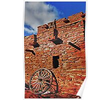 Arizona Adobe Poster