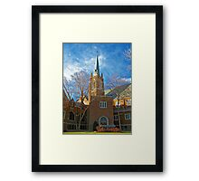 First Lutheran Church Framed Print