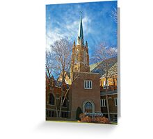First Lutheran Church Greeting Card