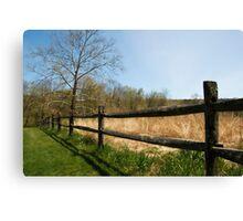 Audubon Fence Canvas Print