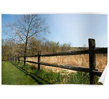 Audubon Fence Poster