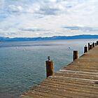 Lake Tahoe Dock by Clarkartusa