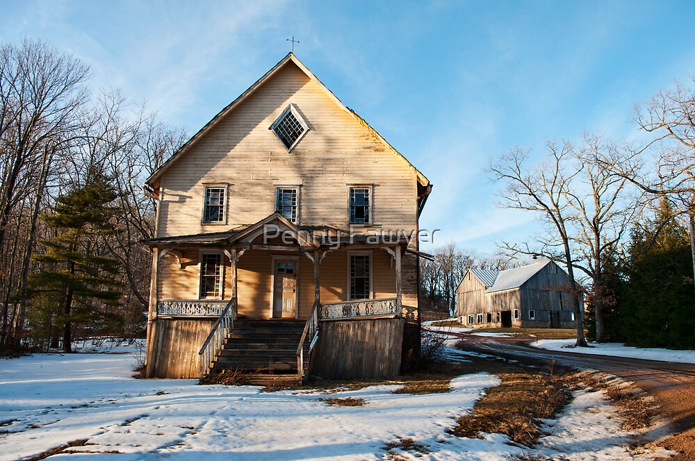 old building  by Penny Rinker