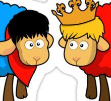 Merlin and Arthur Sheep Edition Sticker