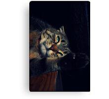 Wildcat Impression Canvas Print