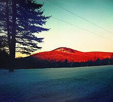 Late Day Light on the Mountain by Nazareth