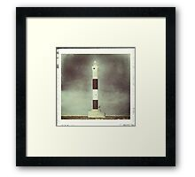 Dungeness 'New' Lighthouse Framed Print