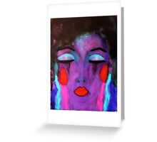 Too Fabulous To Care! Greeting Card