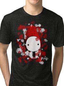 Poppet and Flowers Tri-blend T-Shirt