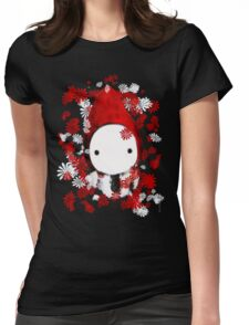 Poppet and Flowers Womens Fitted T-Shirt