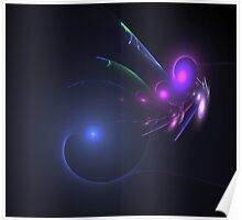 Galactic Wave Poster