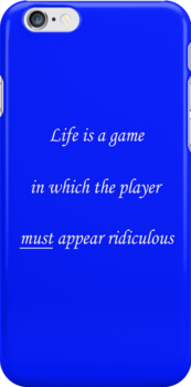 Life is a game... by csztova