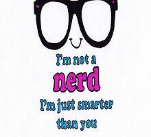 im not a nerd by coatestd01