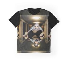 Levitating entity in dark space Graphic T-Shirt