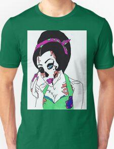 zombie pin up girl Unisex T-Shirt