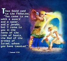 I come in the name of the Lord of hosts-1 Sam. 17:45 by vigor
