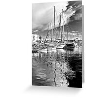 Maritime Reflections Greeting Card