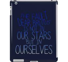The Fault iPad Case/Skin